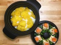 地瓜炊飯+蝦漿蒸豆腐