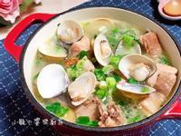蛤蜊蔥雞湯🍲