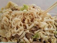 豬肉炒泡麵