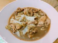 黑胡椒雞腿燉白菜