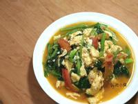 蕃茄菠菜炒蛋