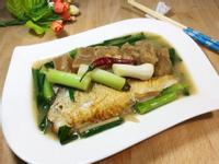 醬筍燒虱目魚