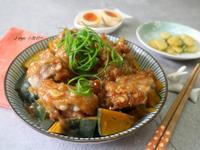 南瓜粉蒸排骨(懶人簡單料理)