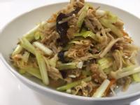 韭黃炒豆皮