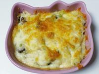 白醬菇菇焗烤飯