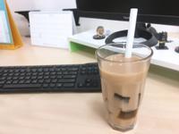 微波點心-咖啡凍奶茶