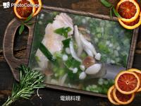 雙菇蔥雞湯