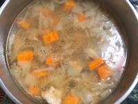 洋蔥紅蘿蔔湯(電鍋料理💡)