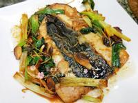 蔥燒虱目魚