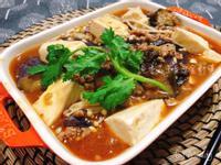 魚香茄子豆腐金針煲
