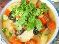 麵筋滷蘿蔔