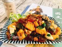 雙蛋鹽酥豆腐創意家常菜