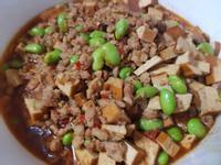 毛豆豆干肉末