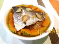 【阿公好料】南瓜蒸魚
