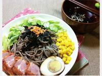 日式豪華蕎麥冷麵定食