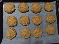 植物油燕麥餅乾
