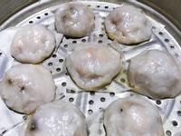清蒸肉圓 (在來米粉+地瓜粉)