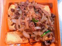 黑胡椒牛肉豆腐