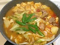 豆腐味增辣醬雞湯