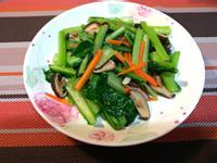 香菇炒時蔬(小松菜)
