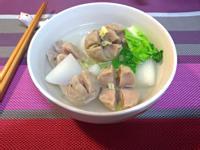 白玉蘿蔔貢丸湯