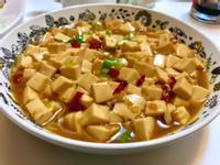 蔥燒辣豆腐