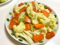 白花椰紅蘿蔔