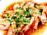 蒜蓉蒸白蝦 ~ 超簡單家常宴客料理