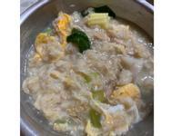 蔬菜菇菇鮪魚燕麥粥🥣