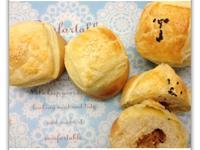 [Witi✿Kitchen](麵包機-麵包)海苔魚鬆起酥麵包&亞麻籽素香鬆起酥麵包