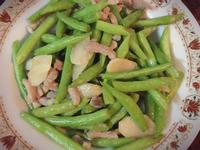 蒜香肉絲四季豆