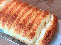 [免揉!懶人食譜]鬆軟牛奶起司麵包