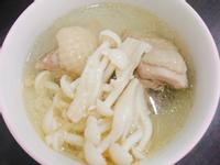 蒜頭菇菇雞