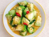 金沙絲瓜(家常菜)