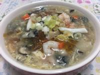 三鮮桃膠、皂角米羹湯~