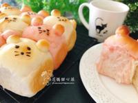 金鼠手撕造型甜麵包(烘焙料理)