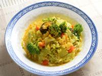 薑黃鮮蔬燉飯