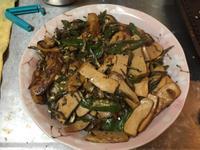糯米椒炒豆乾小魚乾