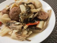 梅乾菜滷桂竹筍
