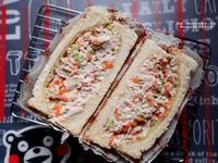 咖啡館的鮪魚三明治