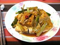 家常蔥燒豆腐