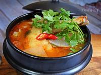 【薩索雞】韓式辣味雞湯
