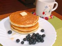 藍莓蜂蜜鬆餅