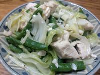 豆子高麗菜炒雞胸肉