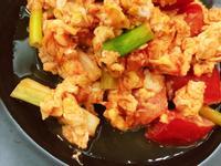 低卡懶人料理*無油版蕃茄炒蛋 健康飲食