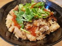 傳統香菇肉絲油飯