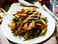 青蘆筍炒雞肉