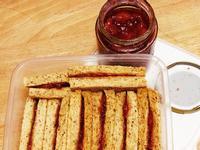酸甜草莓果醬 & 草莓吐司