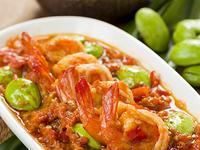 南洋料理達人劉明芳--辣炒蝦仁臭豆