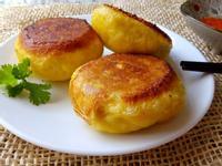 牛肉大白菜生煎包(紅蘿蔔麵皮)